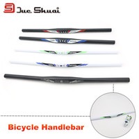 bicycle frame kit - Bicycle One Shaped Handlebar Mountain Bike Handlebars colors Bar Part Grip Aluminum Accessory Mount Frame Handle Holder Kit