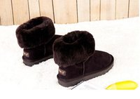b certificate - FREE SHOPING HOT women Classic style high shaft Womens SNOW BOOTS WINTER Fashion style WARM stable With box certificate dust BOOTS