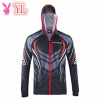 Wholesale New Brands Fishing Sunscreen Clothing Hooded Wicking Men Outdoor Quick Dry Long Sleeve Shirts Fashion Clothes S XL