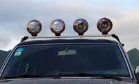 achat en gros de 75w caché la lumière de conduite-1 PAIRE 7 POUCES 75w 100W LUMIÈRE DE TRAVAIL ÉCRIT HID RACCORDEMENT LUMIÈRE EXTENALE H3 XENON POINT DE CONDUITE LUMIÈRE DE TRAVAIL LARGEUR 4WD LUNETTE 4X4 LUMIÈRE FOG
