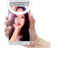 Wholesale 2016 Universal LED Flash Light Up Selfie Luminous Lamp Phone Ring For iphone for Android Phone