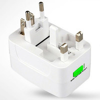Wholesale 1x New Multifunctional Transform Plug Charger To EU AU UK US Charging Supplies Universal Adapter