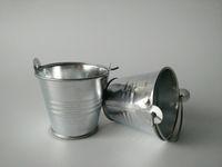 Wholesale Metal Favor Pail pots Decorative wedding favor holders candy holders wedding gift easter egg pot