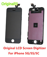 For Apple iPhone 5S LCD Screen Panels  Free Shipping! High Quality LCD Brand New Assembly For iphone 5S 5G 5C LCD Display Touch Screen Frame Digitizer Replacement