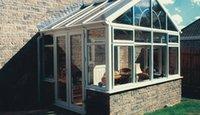 aluminium powder coated - conservatories gable aluminium