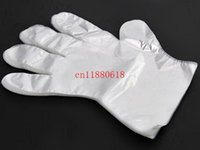 bathroom scale clear - 5000pcs Clear Disposable Plastic Gloves PE Glove Transparent cm Cleaning Gardening Home Restaurant