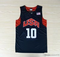 basketball team london - New USA Basketball Jersey Kobe Bryant Lebron James Kevin Durant Dream Team London Olympic Games Throwback Stitched