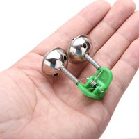 big easy accessories - 5Pcs Big Twin Bells Fishing Bite Alarm Clip on Fishing Rod Fish Ring Sound Alert For Easy Fishing Tackle Accessory order lt no track