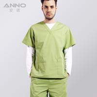 Wholesale 2016 OEM scrubs set medical uniforms women scrubs cotton polyester nurse scrub suit plus size
