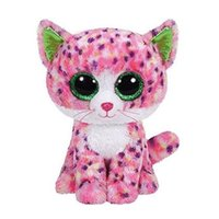 big eyed cats - TY Beanie Boos Cute Cat Plush Toys cm Ty Plush Animals Big Eyes Eyed Stuffed Animal Soft Toys for Kids Gifts lc0269