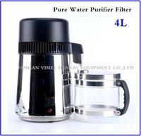 Wholesale BYST Dental Water Distiller Pure Water Purifier Filter Stainless Glass Bottle