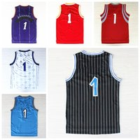 active roads - Stitched Tracy T mac Jersey Throwback Shirt Uniforms Retro Team Road All collections jerseys Complete Logo brand Cheap Hot sale