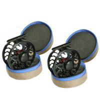 Wholesale 2016 New Arrivals Pc zip neoprene fly reel bag protective fly reel pouch covers fly fishing reel bag Low Price VCJ27 P
