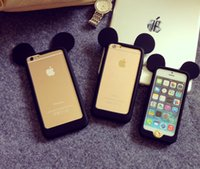 Wholesale Mickey Mouse Bumper Frame For iPhone S Plus S Protector Case Newest Factory Price