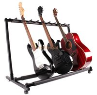 acoustic guitar holder - New Guitar Stand Holder Guitar Folding Stand Rack Stage Bass Acoustic Guitar