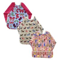bandana bag - 3pcs Baby Eating Bag Baberos Bebes Brand Waterpoof Reusable Baby Bibs Print Pattern Infant Baby Bandana Bibs Burp Cloth