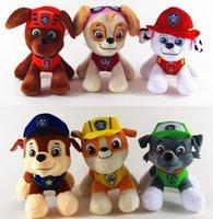 assistance dogs - 6 Kawaii cm Cartoon Kids TV Firefighting Assistance Animal Patrol Dogs Stuffed Doll Plush Toys Gifts New