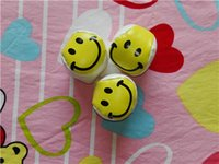 Wholesale Smile Face Ball Footbag Ball Kick Throw Bounce Prize Gift Park cm dia