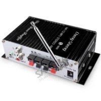 Wholesale SAVEBASE USB SD DVD MP3 FM Car Motorcycle Hifi Amplifier W W Remote Digital Display usb mp3 fm transmitter usb