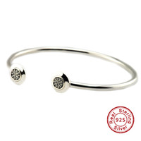 Wholesale 2016 Signature Clear CZ Sterling Silver Beads Fit Pandora Charms Bracelet Authentic DIY Fashion Jewelry