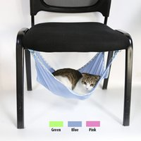 Wholesale Breathable Mesh Summer Cat Bed Pet Hammock for Pet Cat Rest Cat Mats House Soft and Comfortable