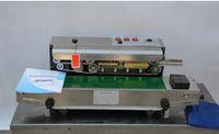 belt printing machine - 2015 new model Warranty Continuous band sealer film sealing machine date printing seal belt price
