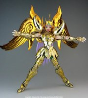 ae toys - In Stock Saint Seiya AE model Gold Soul God Aries Mu Metal Matte effect Low configuration no Cloth bracket Metal Cloth
