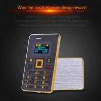 bar bluetooth headset - Ultra Thin Mini AEKU K5 Card Phone FM Bluetooth Headset Built in G Memory GSM Unlocked Phone