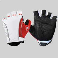 Wholesale Half Finger Breathable Anti shock Cycling Gloves Nylon Gel Bike Gloves Unisex Sports Gloves Road MTB Bicycle Gloves Guantes Ciclismo Color