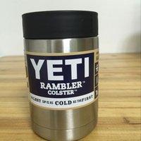 stainless steel coffee mug - 12 oz oz oz YETI Rambler Tumbler Cooler Cup Vacuum Insulated Vehicle Coffee Beer Mug Cups