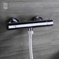 Wholesale Han Pai Brass Thermostatic Garden Faucet Outdoor Faucets Washing Machine Connector Tap Bibcock Laundry Utility Faucets Robinet HP7313