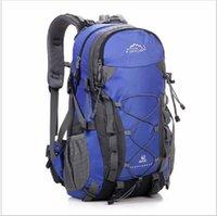 Wholesale 40L Unisex Sport Nylon Waterproof Bag Travel Backpack Outdoor Camping Mochilas Climbing Hiking Backpack Sport Back Bag