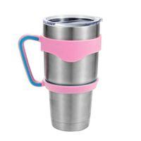 Wholesale 2016 Hottest Cups Handle for Oz YETI stainless steel tumbler Rambler Tumbler YETI Cooler coffee mug DHL