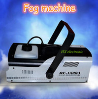 Wholesale 1500W stage dj dmx control fog machine remove control smoke machine fog backgound effect making fogging machine haze effect machine