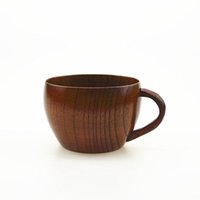Wholesale High quality ECO Friendly Wooden Teacup Wood Tableware Drinkware Zizyphus Jujube Teacup Capacity ml Size cm Brown Cup