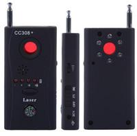 Wholesale CC308 CC308 Hidden Spy Camera Signal RF Detector Anti Eavesdropping Device Full range all round Wireless GPS CCTV Signal IP Lens GSM Laser