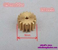 Wholesale 10pcs Metal gear modulus teeth copper gear bore diameter mm close fitting gear box gear