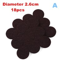 Wholesale 1 set MM thick felt mat posted chair legs protection noise protection mat non slip ceramic flooring Furniture Accessories