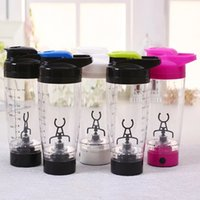 acting camps - Electric protein shaker blender my water bottle automatic movement vortex tornado ml bpa free detachable smart mixer cup