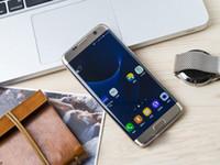 Wholesale S Logo Edge S7 bit Dual core show G GB RAM GB ROM smartphone android goophone s7 edge Metal frame