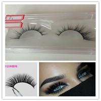 Wholesale 2016 Best Sale D Mink Eyelash Thick Mink Fur Handmade Eyelashes Extension Strips Handmade Eyelash Real Mink Hair Lash
