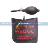 Wholesale Brand New KLOM Middle Size Black Air Pump Wedge Car Locksmith Tools Auto Entry Lockout Locksmith Supplies Drop Shipping