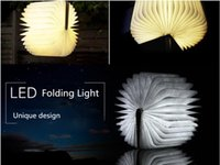 angling books - High quality decorative book light lamp design the folding flip angle illumination study led light