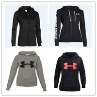 under-armour - MANY COLOR TOP quality Autumn Winter Armour Running Sport Coat Hoodies Jacket Coat Under long sleeve