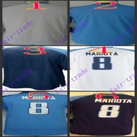 baseball titans - Youth NIK Game Football Stitched Titans Blank Marcus Mariota Light Blue White Dark Blue Jerseys Mix Order