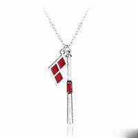 baseball bat necklace - 2016 Hot Movie Suicide Squad Harley Quinn Baseball Bat Pendant Necklace Chian Necklace for Women Men HQ0830