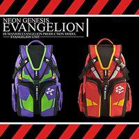Cheap Hot 2 kinds of colour Anime Neon Genesis Evangelion EVA Cosplay Sport Backpack Racksacks Shoulder School Bag Wholesale