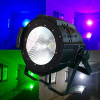 Wholesale stage lighting equipment W cob led par light white and warm white led cob par light for wedding dj party