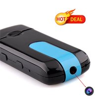 Wholesale 2pcs New DVR U8 USB HD Hidden Pinhole Camera Motion Detector Video Recorder