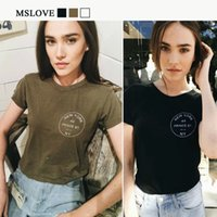 american apparel white t shirt - American Brandy Melville bustier print Letter T Shirt Women American Apparel Cropped casual Crop Top